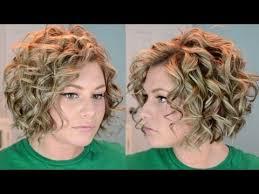 short curly hair tutorial