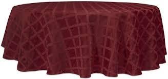 lenox laurel leaf 70 round tablecloth cranberry