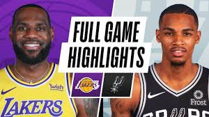 LAKERS at SPURS | FULL GAME HIGHLIGHTS | December 30, 2020 | Full games,  Trail blazers, Lakers