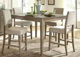 counter height round dining table sets incredible dark brown finish tables brilliant decorate bar set foster beds for he