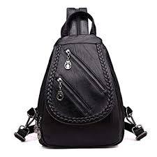 DFHJKY leather <b>backpack women Fashion</b> Weaving <b>Women</b> ...