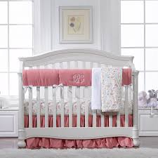natural linen crib rail guard with ruffles crib rail cover for teething handmade perless