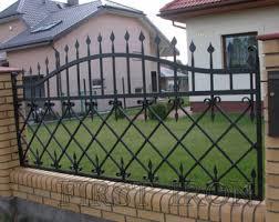 Prefab Wrought Iron Fence Design For Villa Garden  Alibaba a