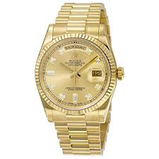 rolex men s 118238 day date analog automatic 18kt yellow gold rolex men s 118238 day date analog automatic 18kt yellow gold watch