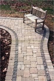 landscapes 4 less cobble paver walkway