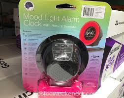 costco 8513500 la crosse mood light alarm clock model c85135 great for