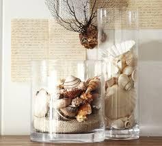 bathroom decor accessories. Beach Shell Vase Filler Tropical Accessories And Decor Bathroom