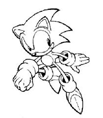 Small Picture Super Sonic Online Coloring Pages Coloring Home
