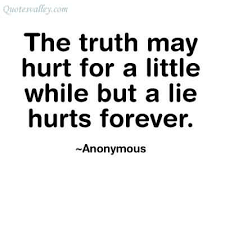 Image result for a lie doesn't become truth