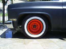 Painted Rally wheels - The 1947 - Present Chevrolet & GMC Truck ...