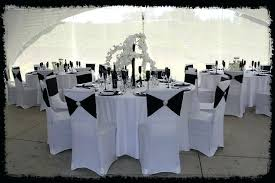 chair cover wedding white and black chic sleek spandex covers flute whole als