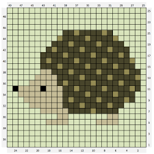 Hedgehog C2c Chart Free The Crafty Co
