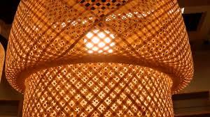 Ikea Sinnerlig Pendant Lamp Bamboo
