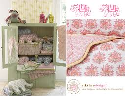rikshaw design nursery bedding for the bohemian baby