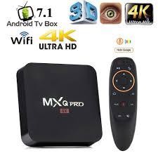 MXQ Pro TV Box Android 7.1 Thông Minh Box 4K HD 2.4G WiFi S905W Quad Core  Chơi Phương Tiện RK3228 tivi Thông Minh Android Box GB RAM 16GB|Thiết bị  thu nhận tín hiệu