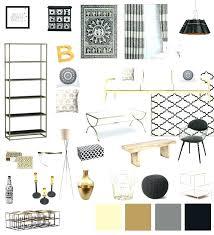 Black White And Gold Room Decor Black And Gold Room Black White Gold ...