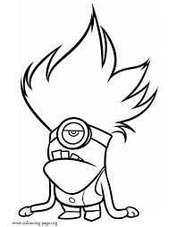 Small Picture Unique Minion Coloring Pages 40 For Coloring Pages for Adults with