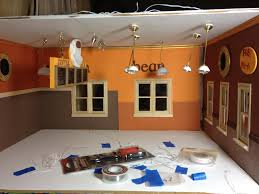 doll house lighting. Layout For Bakery And Coffee Shop Lights Doll House Lighting