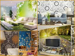 embellish your plain walls with our unique wallpaper designs for living room