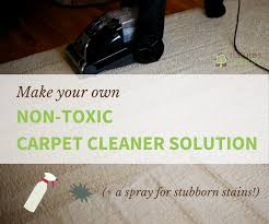 homemade carpet cleaner solution and