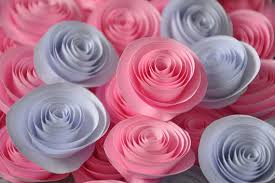 Flower Out Of Paper Valentine Handmade Gifts Flowers Out Of Paper Video Tutorial Make
