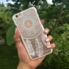 White Dream Catcher Phone Case White Dreamcatcher Phone Case mahalocases 3