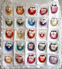 Crochet Owl Blanket Pattern Free Best Little Treasures Crochet Owl Blanket Pattern