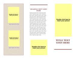 free microsoft word brochure templates tri fold brochure templates free download for word besttemplates123 free