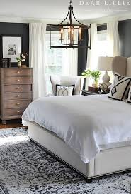 Bedroom rug Fuzzy It Is Really Soft And The Perfect Thickness For Bedroom Rug Love Waking Up In The Morning And Stepping Down Onto It Also Love How It Looks With Our Dear Lillie Studio New Rug And Artwork For Our Master Bedroom Dear Lillie Studio