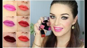 Estee Lauder Lipstick Shade Chart New Matte Envy Lipsticks By Estee Lauder Swatches Review