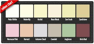Our New Standard Masonry Coating Color Chart Colors