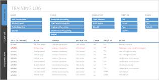 Cost Tracker Excel Employee Training