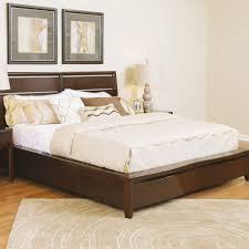 Teak Bedroom Furniture Buy Teak Wood Bed Base Aurillac Online In India Best Prices