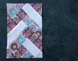 How to Make a French Braid Quilt: Two Ways & French Braid Quilt Block Adamdwight.com