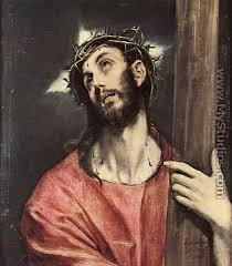 christ carrying the cross el greco domenikos theotokopoulos