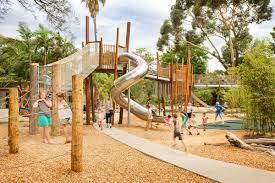 Playground Design Adelaide Zoo Natures Playground By Wax Design Landscape