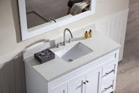 white single sink bathroom vanities. Ariel Hamlet 49\ White Single Sink Bathroom Vanities E