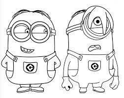 Minions Disegni D Colorare Per Bambini Gratis Disegni Da Colorare