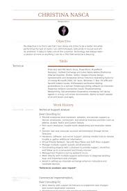 Technical Support Analyst Resume Example Examples Of Resumes