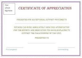 Printable Appreciation Certificates Wording For Recognition Awards Boss Appreciation Day Gift Gifts Of