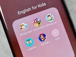 Top 5 ứng dụng học tiếng Anh cho bé trên điện thoại