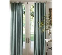 sliding glass door curtains pottery barn. Contemporary Barn Love These Drapes For The Sliding Glass Door Emery Linen Drape  Pottery  Barn To Sliding Glass Door Curtains P