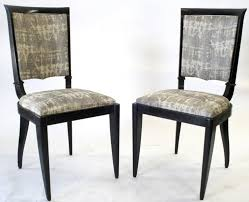Dining Room  Vintage French Art Deco Dining Chairs S Set Of - Dining room chair sets 6