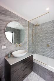 metro performance glass 800mm diameter bathroom mirror and bath glass screen jpg