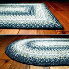 oval braided wool area rugs black throw rug round white small
