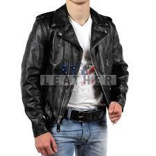 t bird men leather jacket