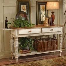 antique white sofa table. Farmhouse Traditions Wilshire Sideboard In Antiqued White Antique Sofa Table E