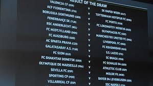 uefa europa league round of 32 draw uefa europa league news uefa com
