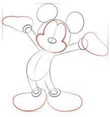 Come Disegnare Topolino Facili Tutorial Passo Per Passo Per Bambini