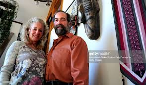 Barbara and Richard Dash pose for a portrait in their Boulder home ...